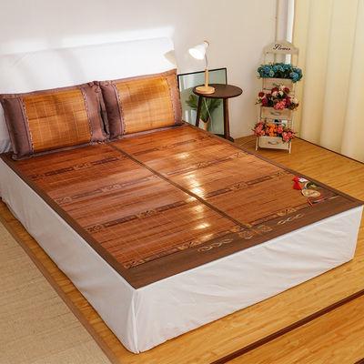 竹席凉席高档双面可折叠竹凉席夏季双人1.5米床1.8米床竹席子夏天