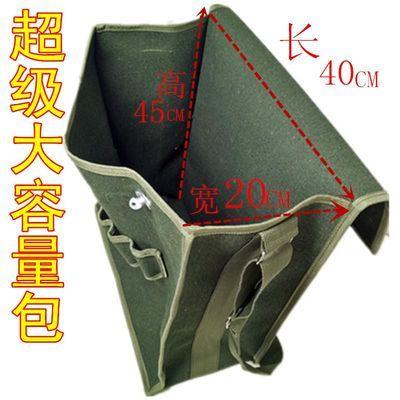 电工工具包帆布加厚单肩包多功能维修包耐磨五金工具袋超大特大包