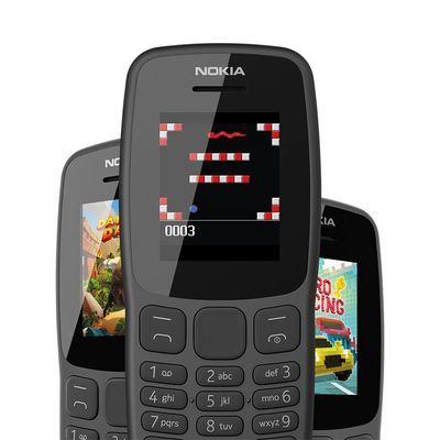 诺基亚(NOKIA)106  老人老年功能手机 学生备用机 双卡双待