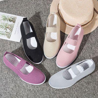 老北京布鞋女士妈妈单鞋子休闲防滑单鞋软底舒适平底2020夏季新款