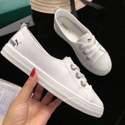 全真皮女士小白鞋透气舒适休闲最新款小白鞋特价促销