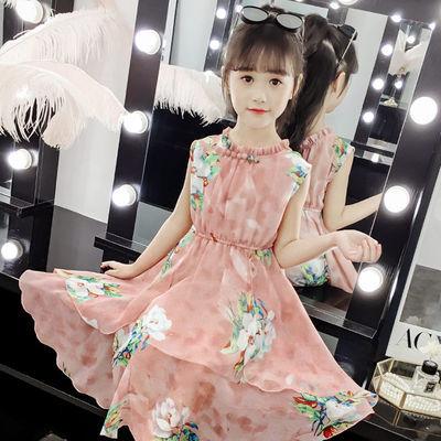 女童连衣裙2020童装新品小女孩公主裙仙女汉服衣服夏装儿童裙子夏