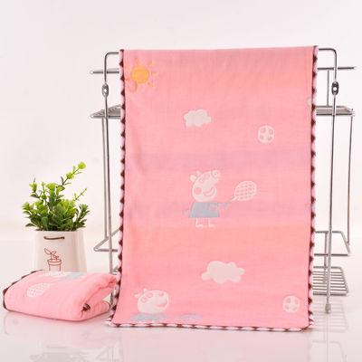 小孩毛巾纯棉洗脸家用可爱小长方形软童巾幼儿园儿童专用