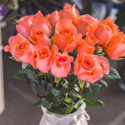 云南昆明基地直发真花水养鲜花花束香水百合批发玫瑰家用速递同城