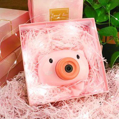 全自动儿童泡泡机网红小猪少女心相机泡泡器网红照相吹泡泡