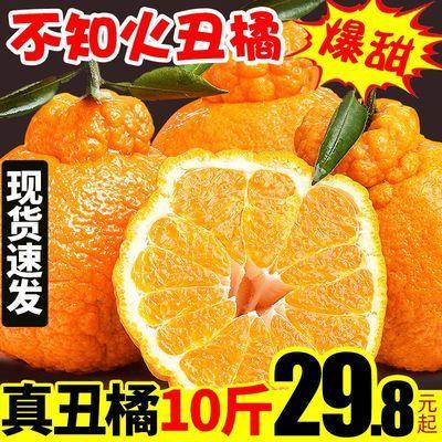 四川丑橘丑八怪橘子新鲜10斤水果当季整箱春见耙耙柑丑不知火桔子