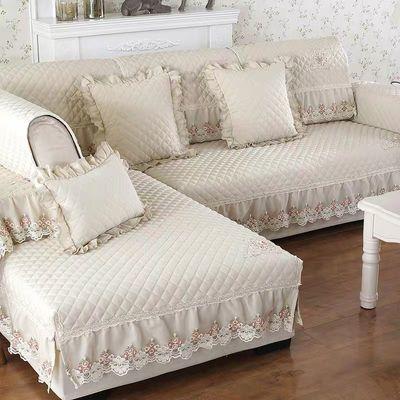 沙发垫四季通用布艺简约现代防滑靠背巾欧式沙发套沙发罩全盖定做