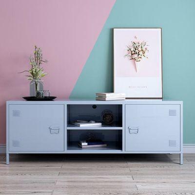 北欧电视柜现代简约收纳柜小户型储藏地柜卧室阳台储物柜客厅矮柜