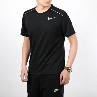 NIKE耐克男装 夏季新品运动时尚休闲快干透气短袖T恤 AJ7566-010