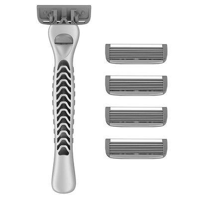 瑞典6层剃须刀手动男士刮胡刀 老式剃须刀6层剃须刀片胡须刀