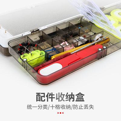 爆款三层多功能浮漂盒子线主线盒鱼线盒鱼漂盒套装渔具盒垂钓用品