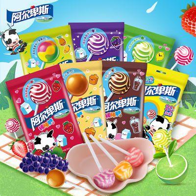 阿尔卑斯棒棒糖40支-100支装儿童糖果多规格组合休闲零食装硬糖