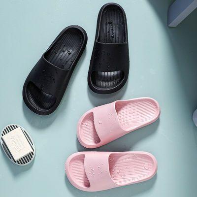 凉拖鞋女夏家用网红EVA超轻软厚底舒适男士情侣防滑耐磨浴室洗澡