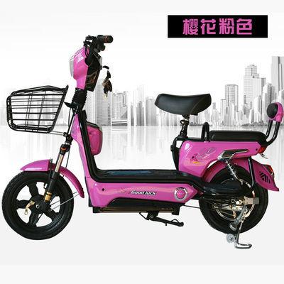 香豆电动车48V电瓶车特价锂电池电动自行车成人男女式电动踏板车