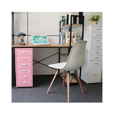 柜子家用理发铁皮文件柜办公矮柜理发店抽屉收纳活动公室小柜子