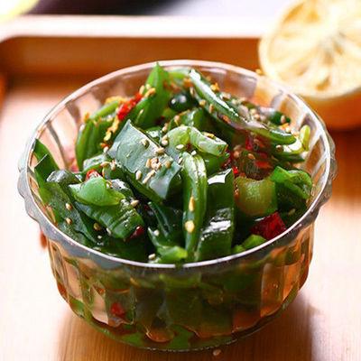 400克/800克 特产香辣海白菜即食裙带菜梗段凉拌菜下饭咸菜裙带菜
