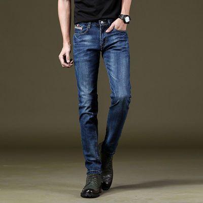 新款2020牛仔裤男弹力修身小脚男式牛仔裤男装裤子好品货商务休闲