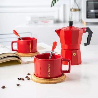 咖啡壶摩卡壶铝制八角咖啡壶手冲过滤咖啡壶浓缩意式咖啡花式咖啡