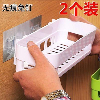 百搭浴架无打孔厨卫卫生间置物架洗漱台墙壁放置粘贴免钉用品沐浴