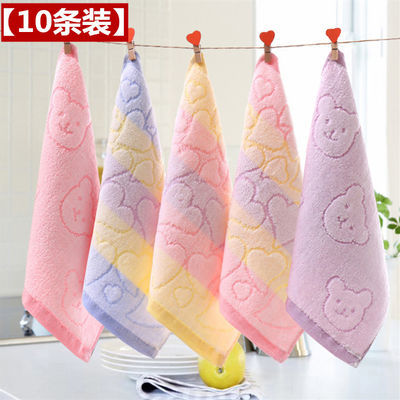纯棉毛巾方巾口水巾婴儿洗脸巾新生儿宝宝方巾成人儿童手帕手绢