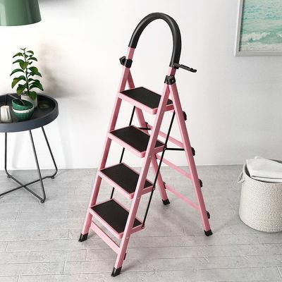 梯子家用折叠梯加厚人字梯多功能移动楼梯伸缩登高梯爬梯室内扶梯