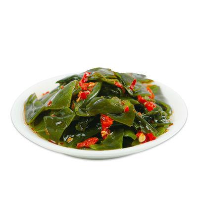 国圣海带结海带片500g开袋即食裙带菜香辣味独立小包网红零食小吃
