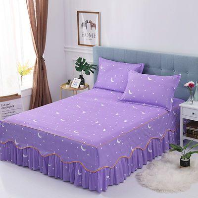 【品牌清货单件床裙】花之喜不褪色韩版防滑床单床罩席梦思保护套