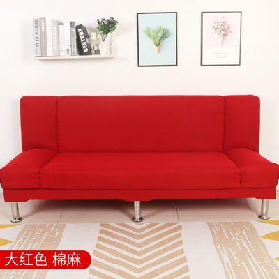 简易布艺可折叠沙发床客厅双人三人出租房沙发懒人沙发小户型店面