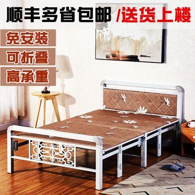【推荐】折叠床午休床单人床成人床双人床铁艺床午睡木板床陪护床