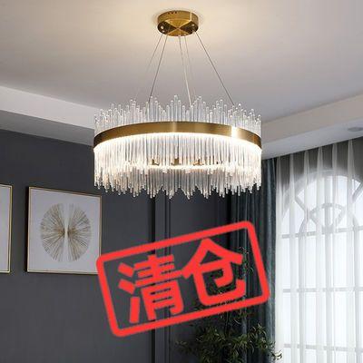 轻奢吊灯后现代水晶灯北欧简约客厅灯餐厅吊灯卧室灯LED灯具灯饰