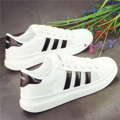 夏季网面透气小白鞋男鞋韩版潮流学生轻便运动跑步鞋百搭厚底板鞋
