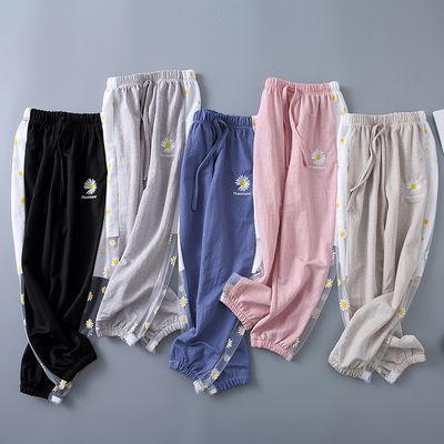 小雏菊儿童裤子女童防蚊裤2020夏季新款洋气宽松中大童夏装灯笼裤