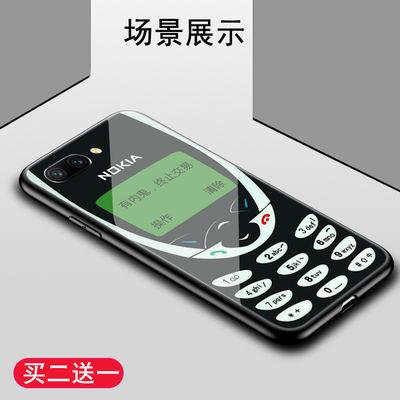 华为荣耀10/8/9/青春版玻璃手机壳复古诺基亚造型安排上了有内鬼