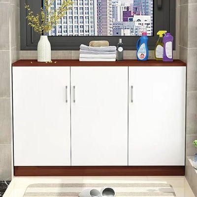 置物简易定做窗台储物简易储物柜防晒柜子阳台收纳柜飘窗柜矮柜
