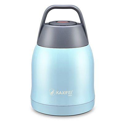卡西菲不锈钢真空焖烧壶饭盒焖烧杯汤粥罐保温桶闷烧罐600ml