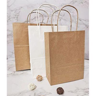 牛皮纸袋手提袋外卖烘焙面包西点蛋糕甜品打包袋礼盒购物包装袋子