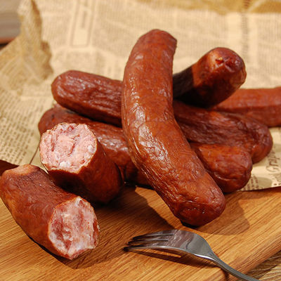 500g正宗哈尔滨红肠非俄式红肠开袋即食儿童肠熟食东北特产美食
