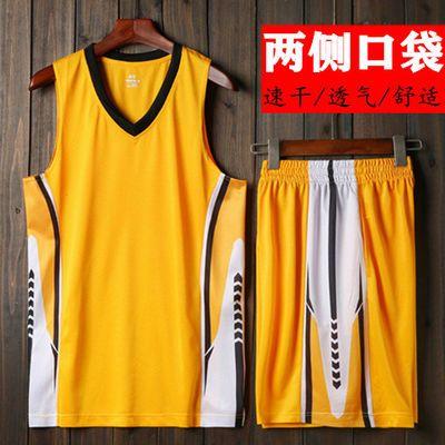 篮球服套装男夏季速干球衣学生比赛队服大码跑步服青少年运动球服