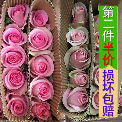 热销玫瑰花束真花鲜花云南昆明基地直发康乃馨百合花鲜花速递礼物