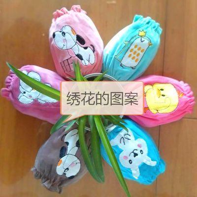 儿童绣套0-4岁绣花绣套水晶绒绣卡通防污耐脏套绣