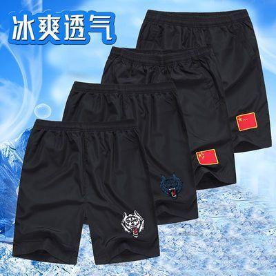 军迷刺绣中国旗军装短裤男体能特种兵户外运动训练休闲宽松五分裤