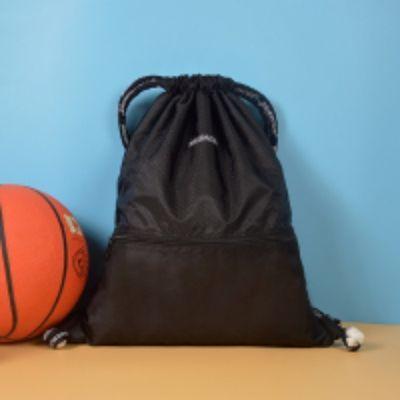 抽绳双肩包束口袋旅行背包男女健身篮球防水大容量轻便折叠运动包