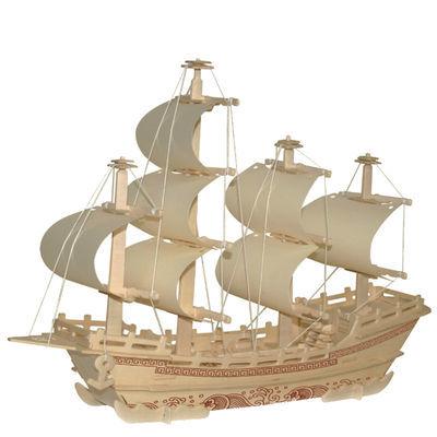抖音成人高难度手工制作拼装玩具儿童积木玩具3d立体拼图木质木制