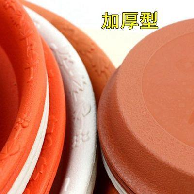 【超值10个】圆形花盆大号托盘加厚树脂耐用底托接水盘底座饲料盆