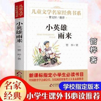 小英雄雨来  正版小学生课外书必读 新课标 儿童文学名家经典书系
