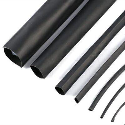 优质电工热缩管绝缘套管 黑色直径1/2/3/4/5/7/8/9/12/14/0.6mm等