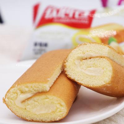 遂雅瑞士软心卷蛋糕西式营养早餐糕点瑞士卷面包蛋糕10包起整箱装