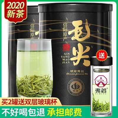 【新茶上市】信阳毛尖2020新茶明前特级嫩芽茶叶炒青绿茶125克罐