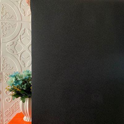 静电免胶窗户磨砂贴膜遮阳卧室家用阳台黑色不透光遮光玻璃贴纸