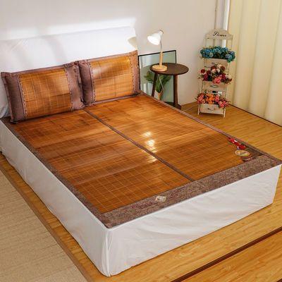 无毛刺竹席1.8米床夏季双面可折叠竹凉席子0.8米单人宿舍学生凉席